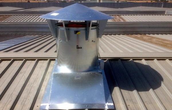 Ventilación Dinámica en Cubierta
