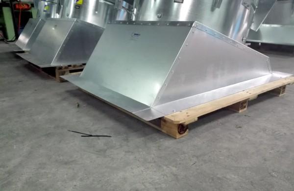 Grupos de ventilación para tejado