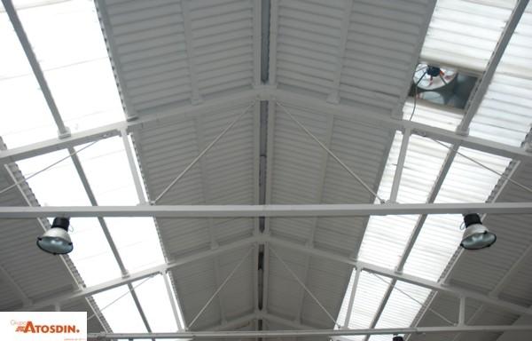 Ventilador de cubierta para nave industrial