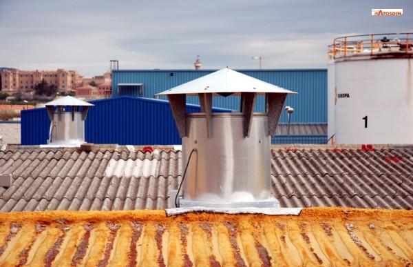 Ventilación dinámica industrial