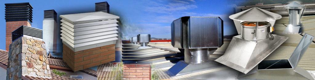 ATOSDIN SL - Ventilación para naves y remates de chimeneas