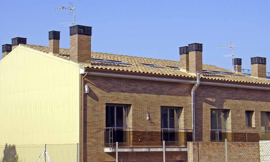 Instalaciones de remates de chimenea realizadas por ATOSDIN SL