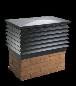 Atosdin - Remates de chimeneas Mod_granada negro
