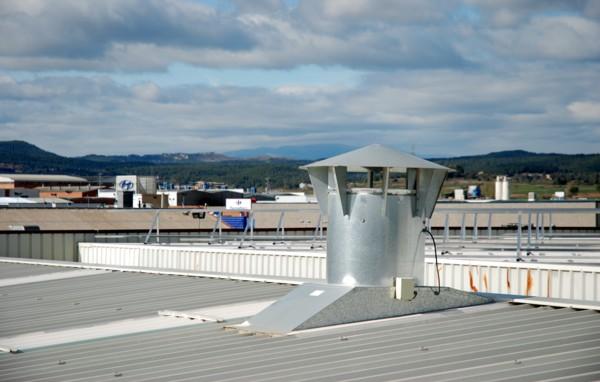 Ventiladores dinámicos para naves industriales
